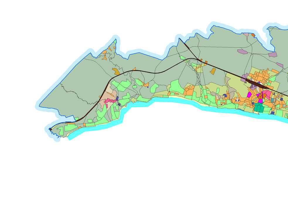 Генплан. Схема территориальных