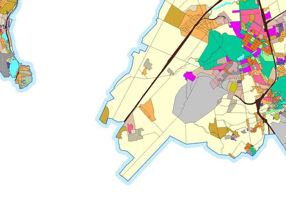 Генплан.  Схема территориальных зон современного использования Санкт-Петербурга - Проекты века - Невастройка.