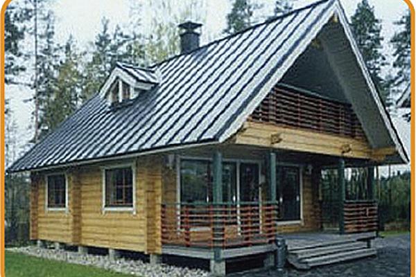 Проект дома из профилированного бруса пд 009 - домострой - в.