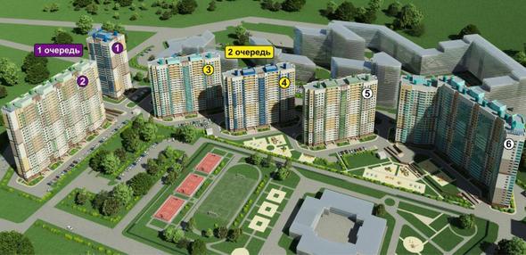 ЖК quotНовое Муриноquot от ЦДС Отзывы цены планировки квартир